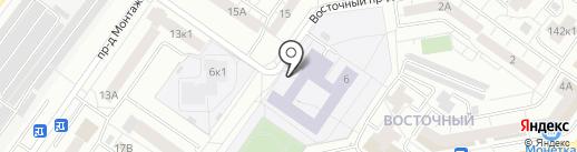 Юный Легион на карте Тюмени