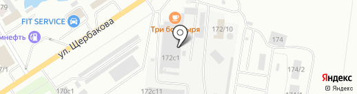 РемДизель на карте Тюмени
