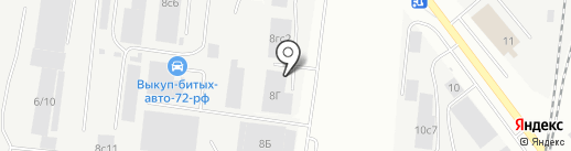 Берри-Маркет на карте Тюмени