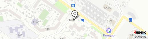КластерКом на карте Тюмени