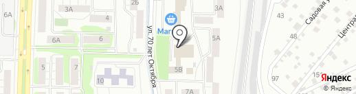 Общественная приемная депутата Городской Думы Моисеева Н.А. на карте Тюмени
