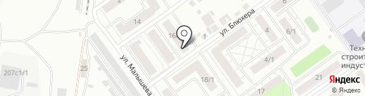 Горний на карте Тюмени