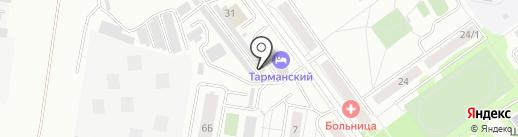 Okna72.net на карте Тюмени