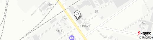 Аптечный пункт на карте Тюмени