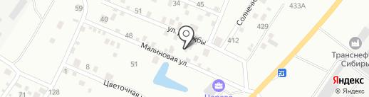 Сервис тяжелых машин на карте Тюмени