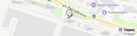РУСИНТОРГ на карте Тюмени