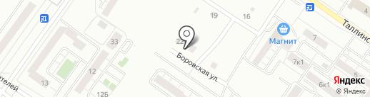 ИльяСКА на карте Тюмени