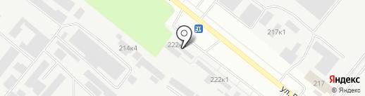 ЛСР. Кирпич на карте Тюмени
