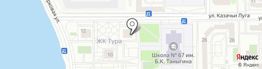 Купец на карте Тюмени
