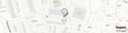 Синергия маркет восток на карте Тюмени