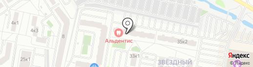 АСВОК на карте Тюмени