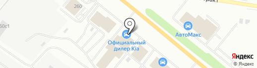 АвтоСтиль на карте Тюмени