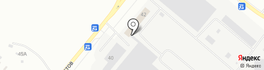 Трек-проф на карте Тюмени
