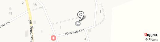 Средняя общеобразовательная школа на карте Архангельского