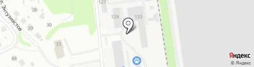 ЛесПаркХоз, МКУ на карте Тюмени