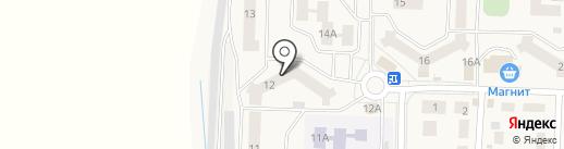 Магазин №1 на карте Боровского