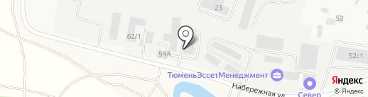 Электросервис на карте Боровского