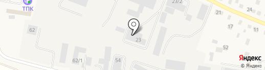 Спецдеталь на карте Боровского