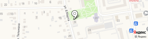 Малыш на карте Боровского