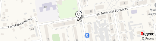 Магазин по продаже фруктов и овощей на карте Боровского