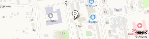 РАВИС на карте Боровского