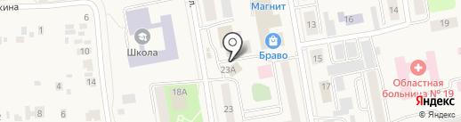 Адам и Ева на карте Боровского