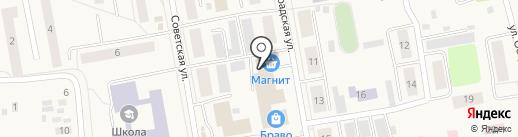 Магнит на карте Боровского