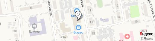 Электромир на карте Боровского