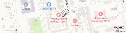 Городская поликлиника №19 на карте Боровского