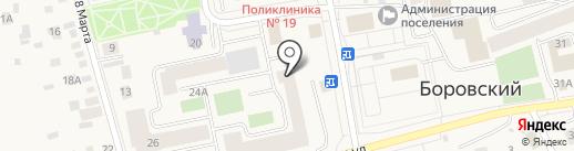 Партнеры на карте Боровского