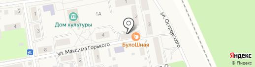 Елена на карте Боровского