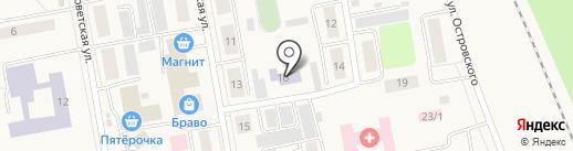 Мастерок на карте Боровского