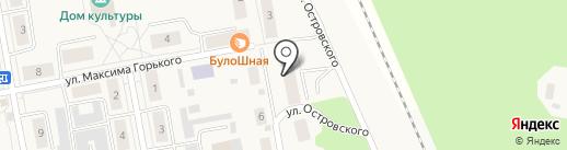 ЖКХ п. Боровский на карте Боровского