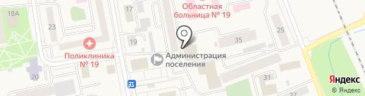 Книжный магазин на карте Боровского