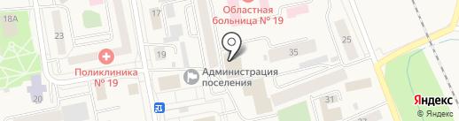 Аптека на карте Боровского