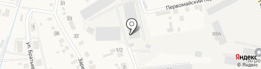Пышмаавтодор на карте Боровского