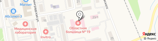 Скорая медицинская помощь на карте Боровского