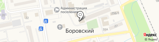 ЭКО на карте Боровского