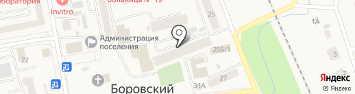 Скутер-Про на карте Боровского