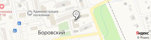 СоколИнвестСтрой на карте Боровского