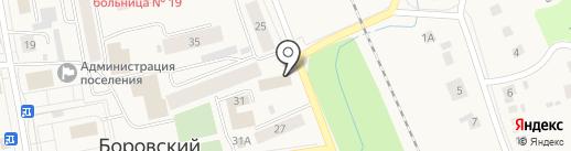 Управление Вневедомственной Охраны на карте Боровского