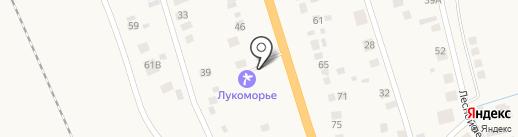 Лукоморье на карте Боровского