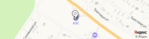 АЗС на карте Винзилей