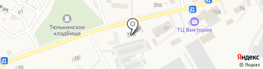 Электро на карте Винзилей