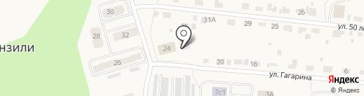Бригадир и Компания на карте Винзилей