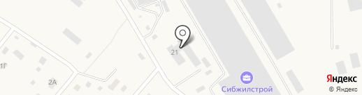 Радуга-Колор на карте Винзилей