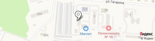 Магазин мяса и полуфабрикатов на карте Винзилей