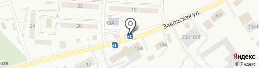 Цветочный магазин на заводской на карте Винзилей
