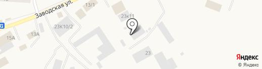 Сосновый бор на карте Винзилей