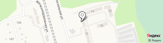 Винзилинская сельская библиотека на карте Винзилей